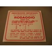 ADESIVO RODAGGIO